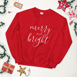 Merry and Bright Sweatshirt