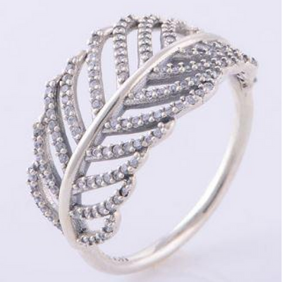 Bague Feather Silver