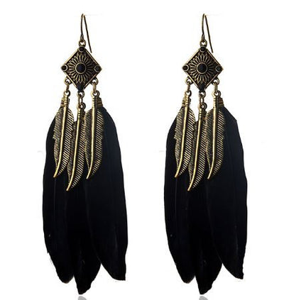 Boucles d' Oreilles Feather