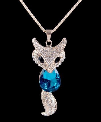 Pendentif She-Wolf Blue