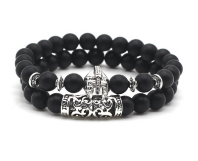 Bracelet Duo Casque Viking