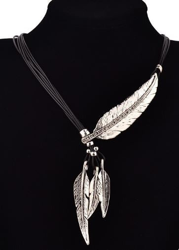 Pendentif Indian Feathers