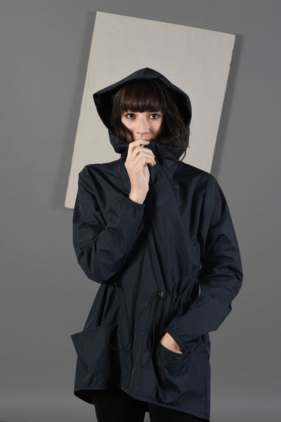Raincoat | Waterproof Jacket | Navy