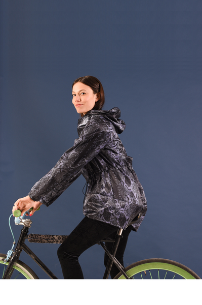 Raincoat | Cycle Jacket | Snake print