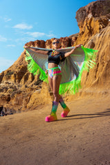 *ONE OF A KIND* 'CANDYLAND CAPE'