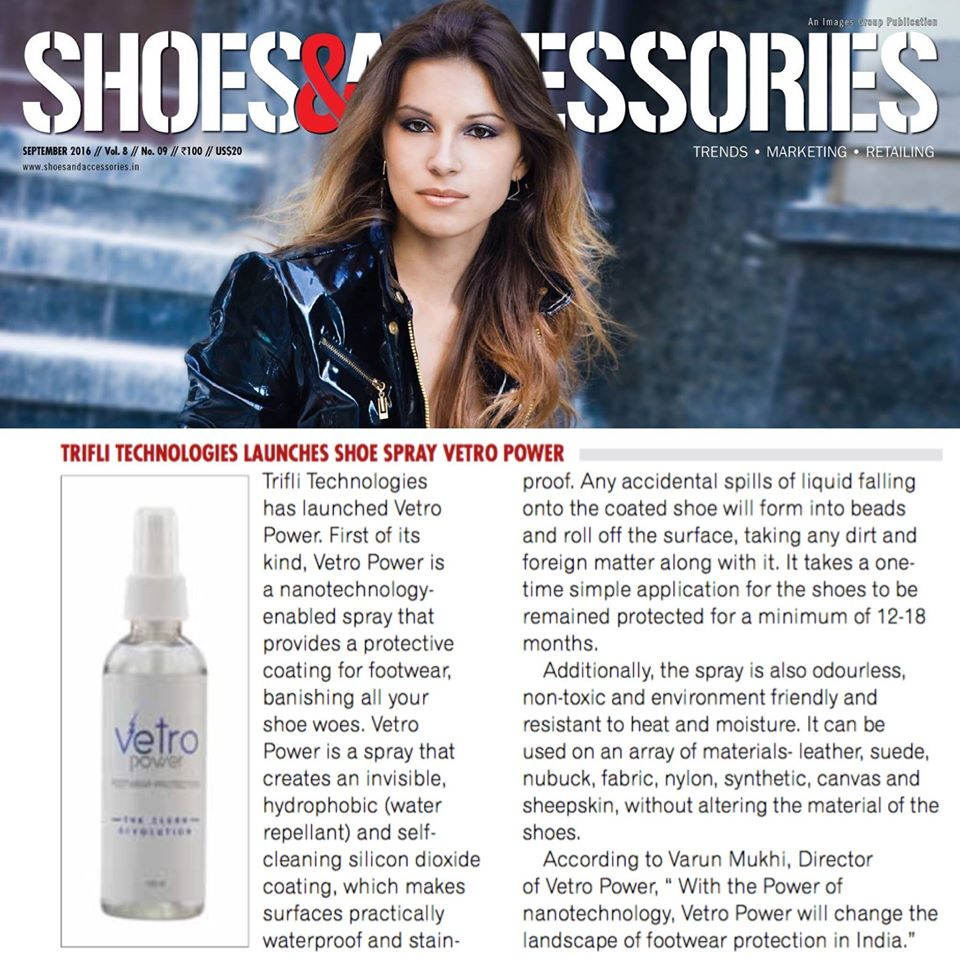 Vetro Power Shoes & Accessories Magazine - September 2016