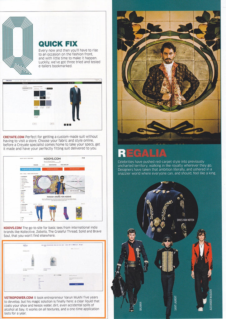 GQ India - September 2016 Issue - Vetro Power