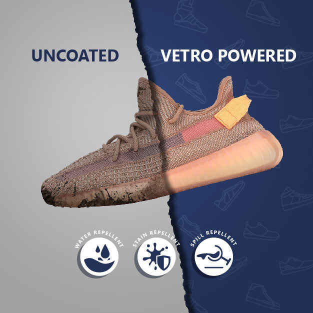 Vetro Power Shoe Care Kit: Footwear Protection + Premium Brush + Luxe Microfiber Cloth