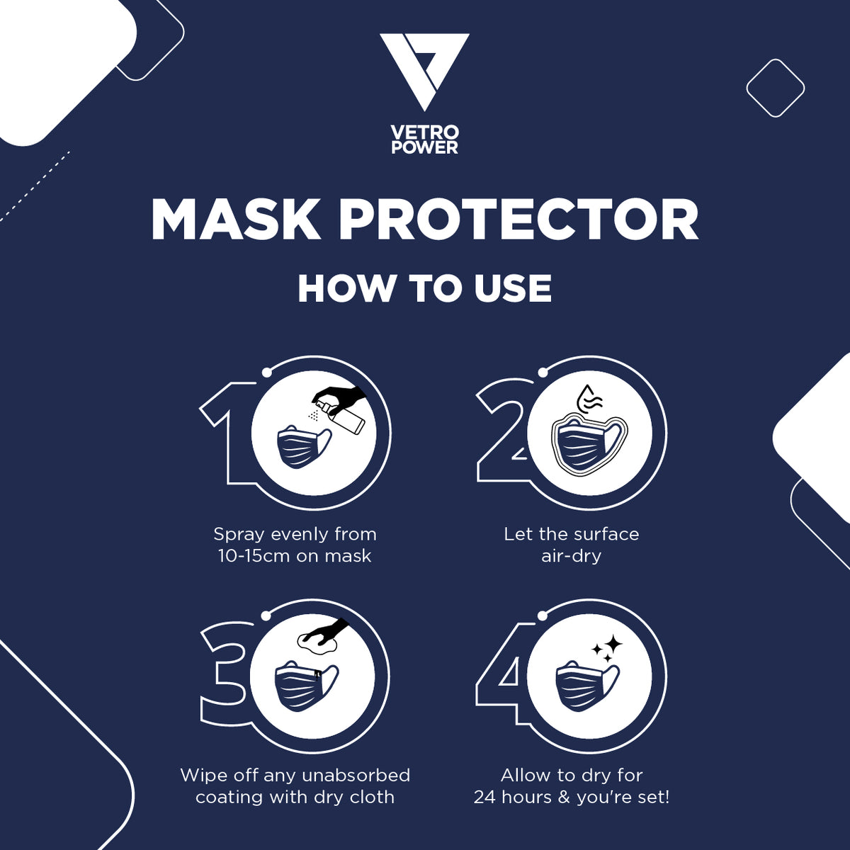 Vetro Power Nanotechnology Mask Protector 100ml How To Use