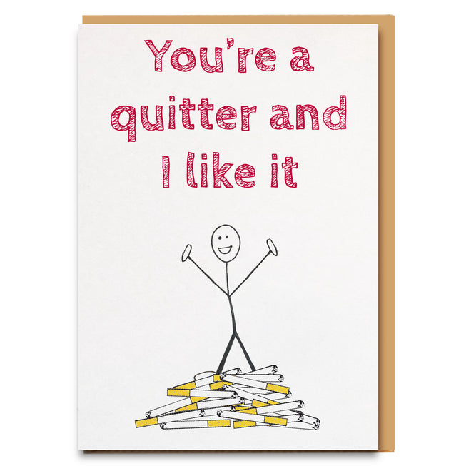 Quitting Cards