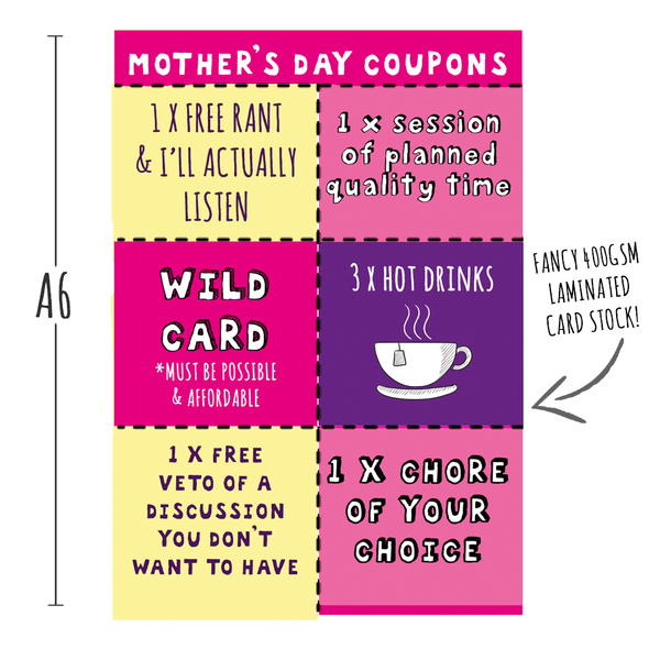 NEW! Mother's Day Coupons!