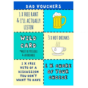 funny fathers day coupons for dad