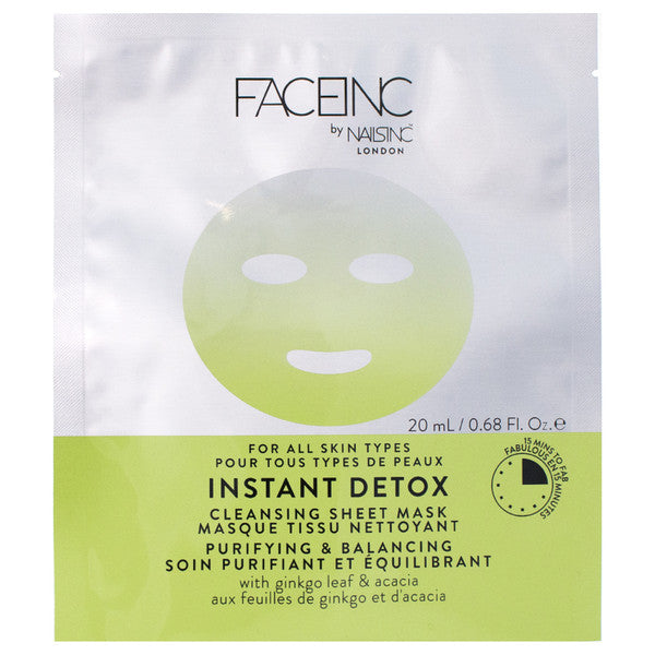 Face Inc - Instant Detox Sheet Face Mask