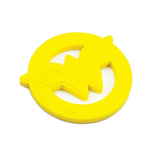 Wonder Woman Shaped Silicone Teether - DC Comics
