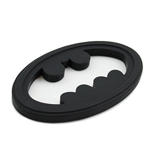 Batman Shaped Silicone Teether - DC Comics