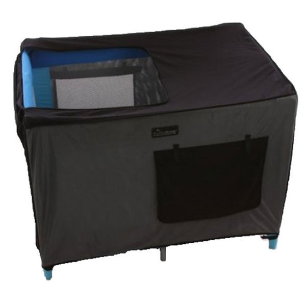 SnoozeShade - Travel Cot Blackout Cover
