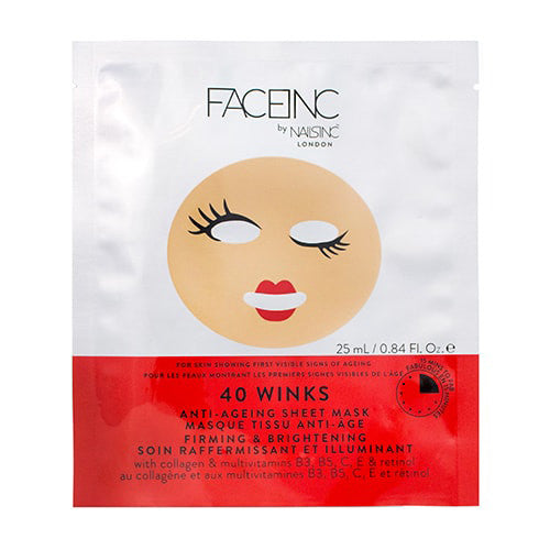 Face Inc - 40 Winks Sheet Face Mask