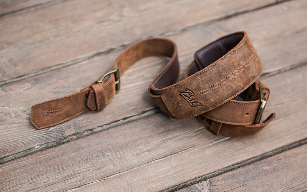 B&G Leather Guitar Strap