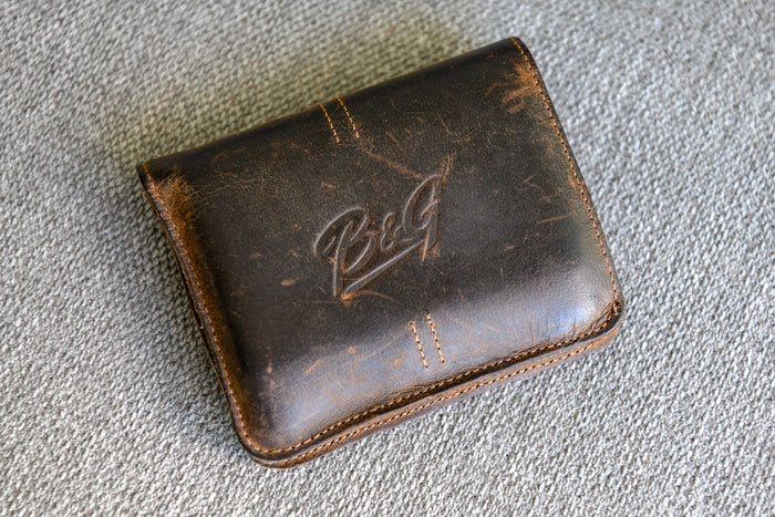 B&G Leather Guitarist's Wallet