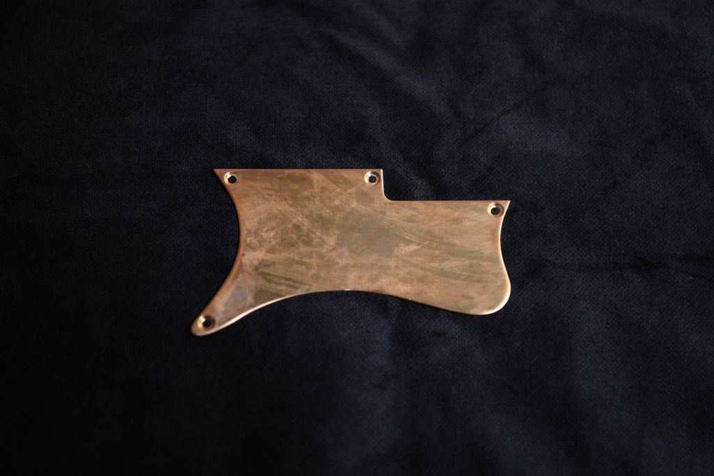 Little Sister Brass Pickguard