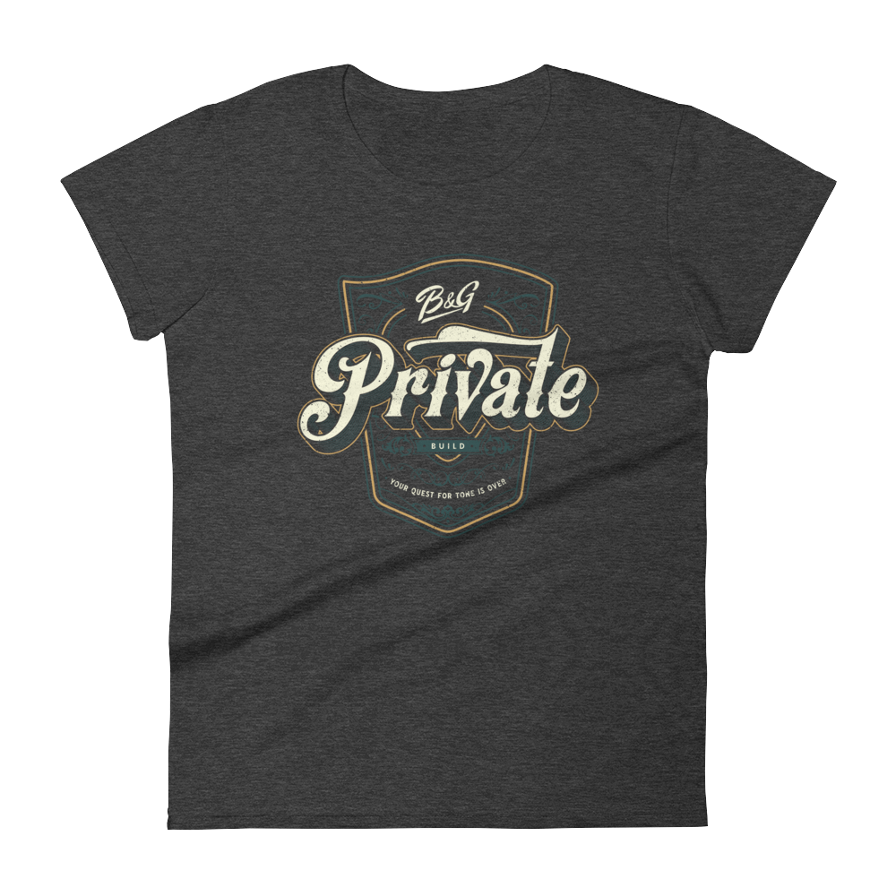 PRIVATE BUILD WOMEN'S T-SHIRT