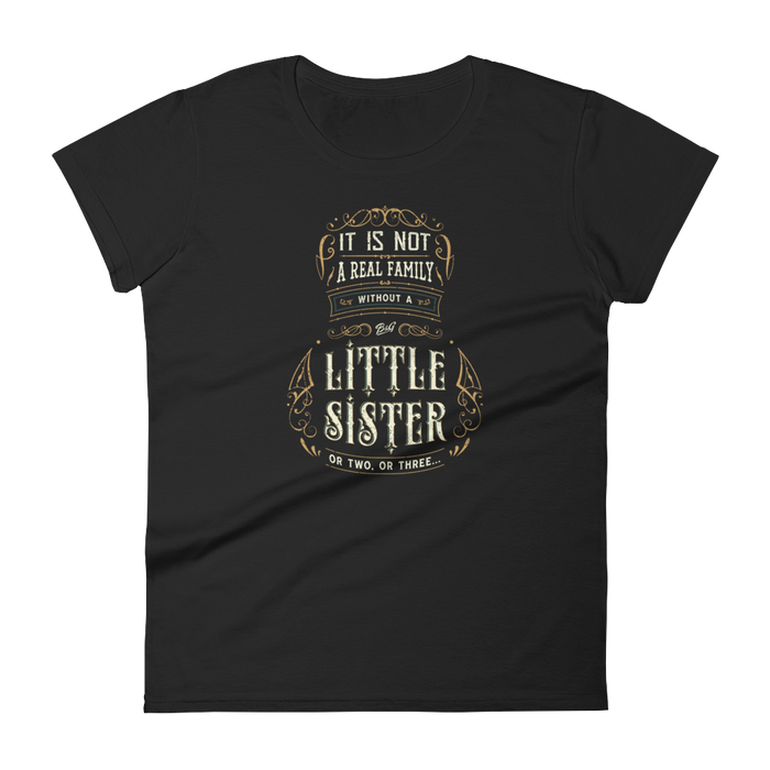 LITTLE SISTER FAMILY WOMEN'S T-SHIRT