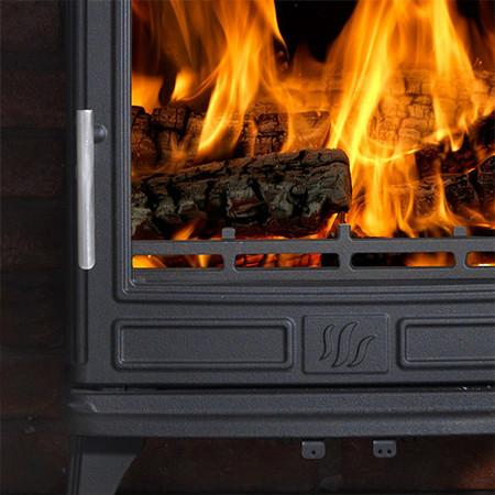 What type of wood should I use in a wood burning stove?