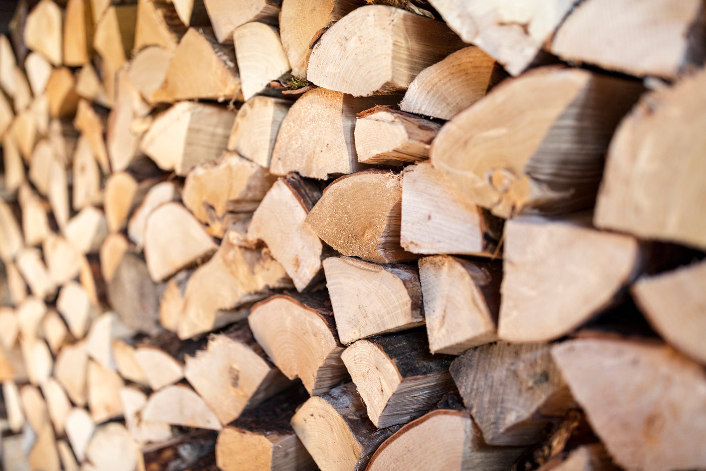 How to build a wood store for your log burning stove