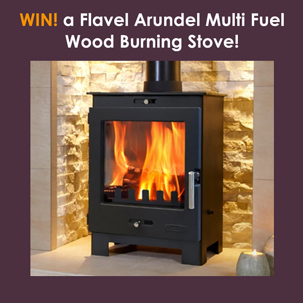 Win a Flavel Arundel Multi Fuel Wood Burning Stove