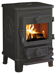 The Morso Squirrel 1410 Multi Fuel Wood Burning Stove
