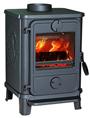The Morso Squirrel 1412 Multi Fuel Wood Burning Stove