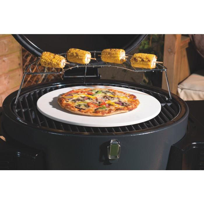 Lifestyle Dragon Egg Charcoal BBQ With Pizza Stone - Stove Supermarket