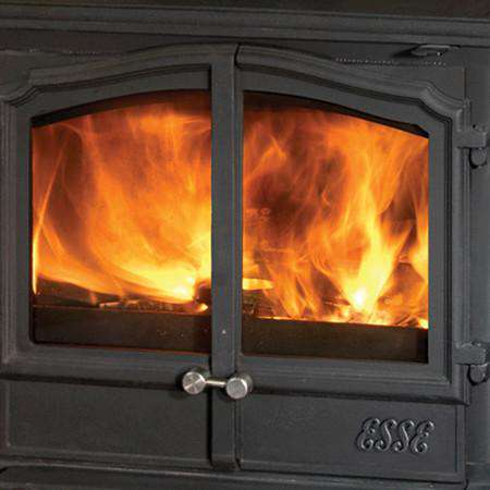 Esse 100 Double Door SE Multi Fuel / Wood Burning Stove zoomed