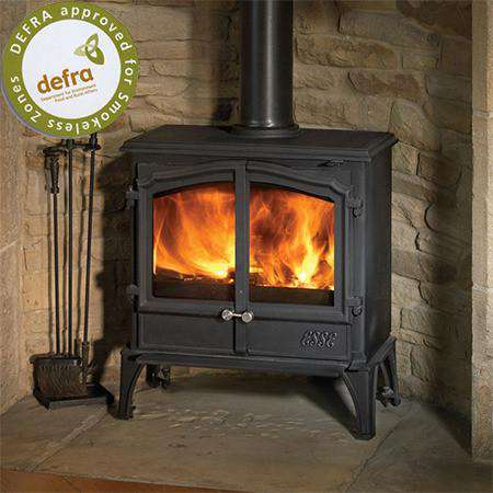 Esse 100 Double Door SE Multi Fuel / Wood Burning Stove