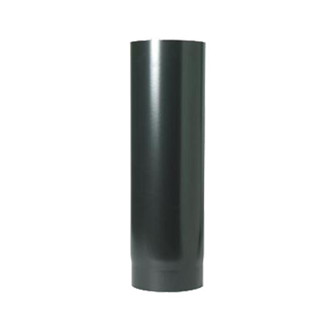 "1000mm x 125mm (5"") Black Vitreous Enamel Flue Pipe"