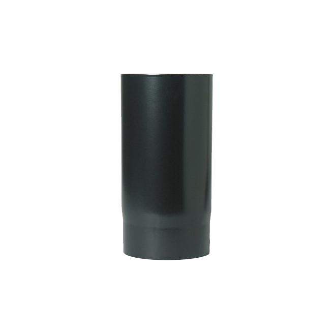 "125mm (5"") x 500mm Black Flue Pipe"