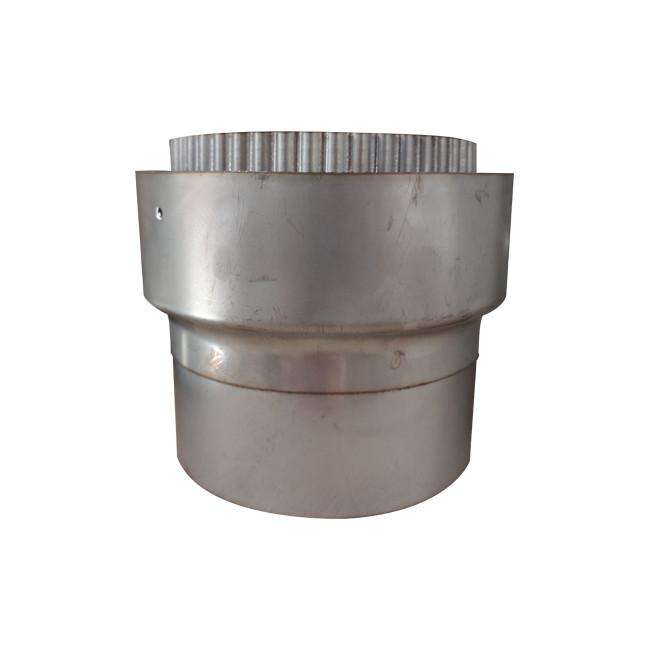 "125mm (5"") Stainless Steel Flue Liner Adaptor"
