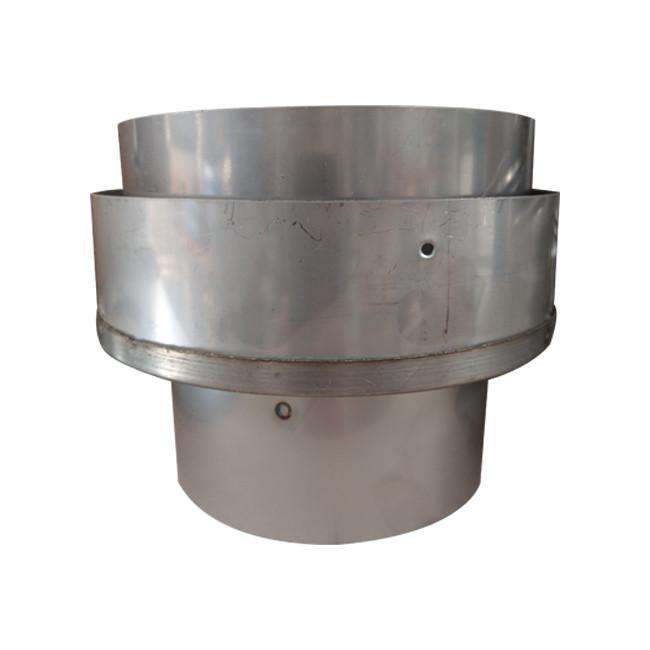 "125mm (5"") - 150mm (6"") Stainless Steel Flue Liner Adaptor"
