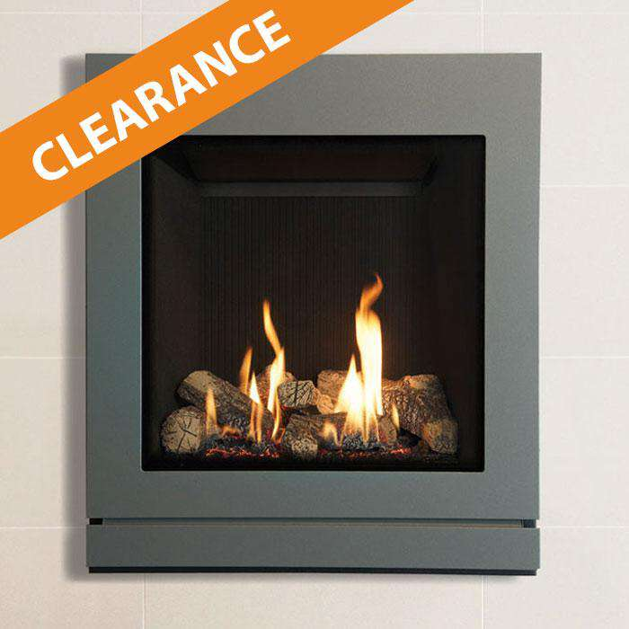 Gazco Riva2 530 / NG / CF / Black Reeded Lining Fire - CLEARANCE