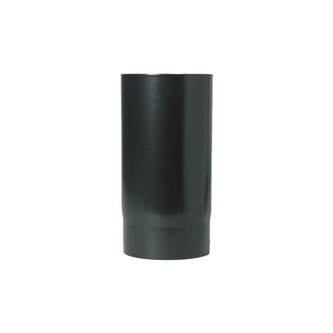 "150mm (6"") x 500mm Black Flue Pipe"