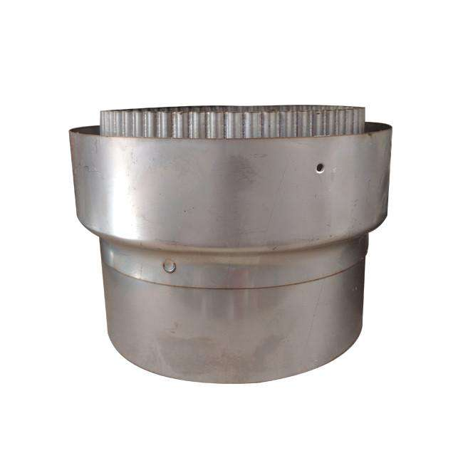 "150mm (6"") - 150mm (6"") Stainless Steel Flue Liner Adaptor"