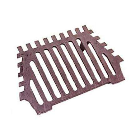 "18"" Queenstar Grate - Flat (BG032) - Cast Iron bottom grate"