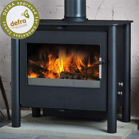 Esse 225 XK Contemporary SE Multi Fuel / Wood Burning Stove - Stove Supermarket