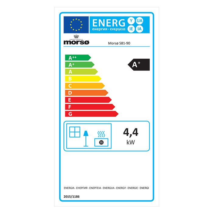 Morsø S-81 - Energy Label