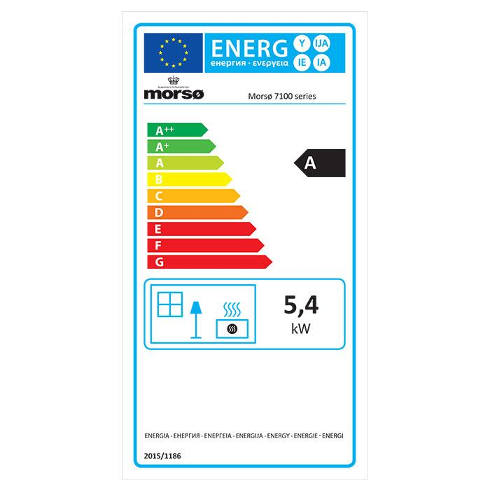Morsø 7110 - Energy Label