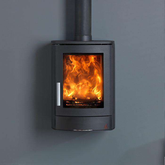 ACR Neo 1 Wall Hanging SE Multi Fuel / Wood Burning Stove - Stove Supermarket