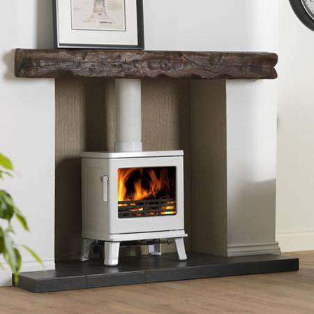 ACR Birchdale Multi Fuel / Wood Burning Stove - Arctic White Enamel