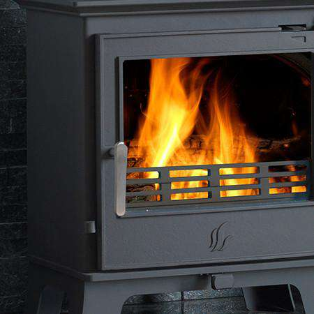 ACR Malvern Classic SE Multi Fuel / Wood Burning Stove - handle highlight