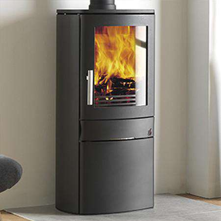 ACR Neo 1 Cupboard Base SE Multi Fuel / Wood Burning Stove - front left view