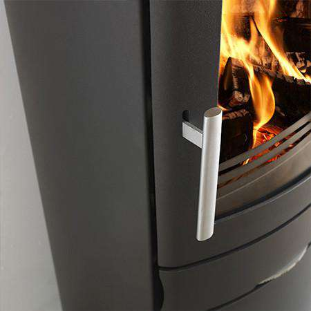 ACR Neo 1 Cupboard Base SE Multi Fuel / Wood Burning Stove - handle zoom